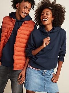 Classic Gender-Neutral Pullover Hoodie for Men & Women