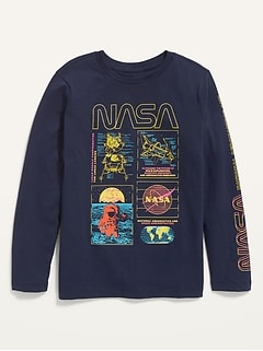 Licensed Pop-Culture Gender-Neutral Long-Sleeve Tee for Kids