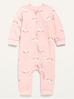 Unisex French Terry One-Piece for Baby