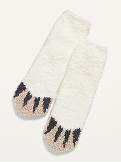 Chaussettes douillettes unisexe à imprimé pour enfant