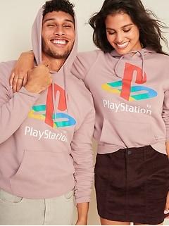 Chandail à capuchon unisexe Playstation SonyMC à enfiler pour homme et femme