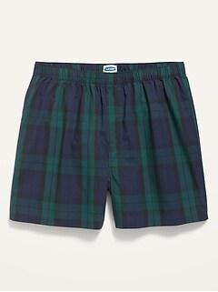 Soft-Washed Printed Boxer Shorts for Men