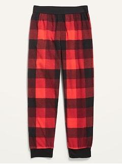 Pantalon de pyjama en micromolleton à imprimé pour garçon