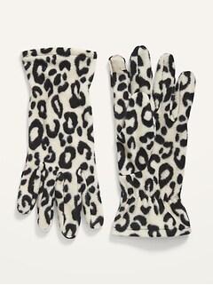 Go-Warm Performance Fleece Text-Friendly Gloves for Women