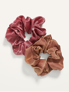 Hair Scrunchie 2-Pack for Women