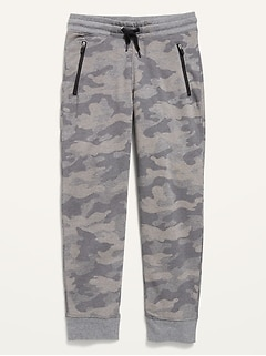 Zip-Pocket Joggers for Boys