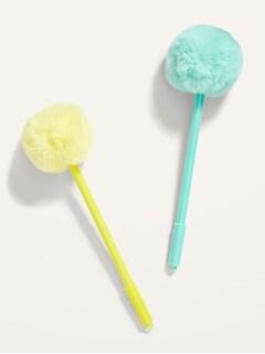 Paquet de deux crayons à pompon IG DesignsMC