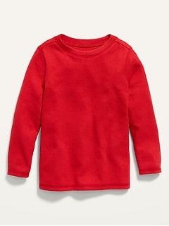 Unisex Long-Sleeve Thermal Tee for Toddler