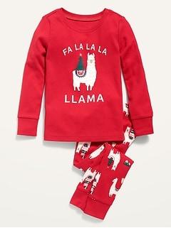 Pyjama à motif des fêtes pour tout-petit et bébé