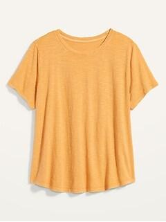 EveryWear Slub-Knit Plus-Size Tee
