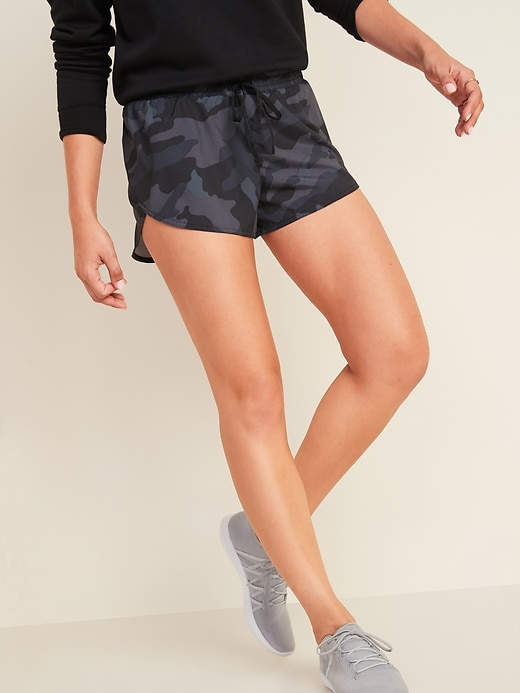 Dolphin-Hem Run Shorts for Women -- 3-inch inseam