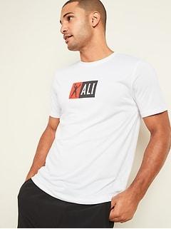 T-shirt de base Muhammad AliMC Go-Dry Cool contrôle des odeurs pour homme