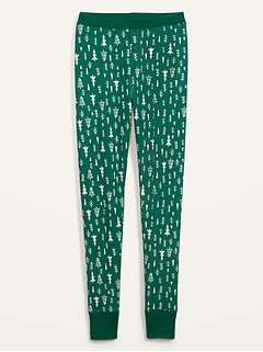 Legging de pyjama en tricot isotherme pour femme