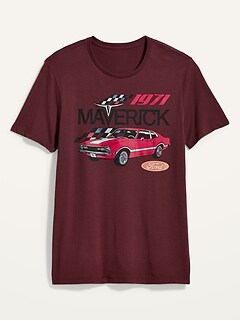 T-shirt unisexe 1971 Maverick FordMD pour homme et femme