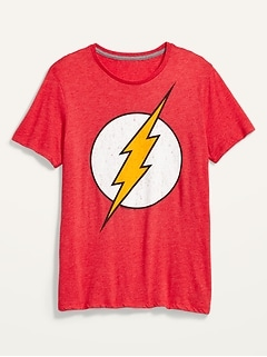 DC Comics™ The Flash Gender-Neutral Tee for Men & Women