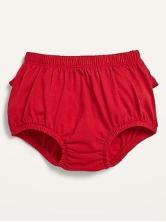 Unisex Ruffle-Trim Bloomers for Baby