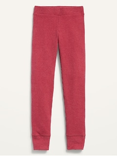 Cozy Rib-Knit Leggings for Girls