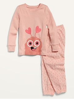 Graphic Pajama Set for Toddler & Baby