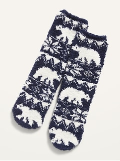 Printed Cozy Socks for Girls