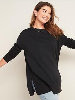 Loose Tunic Sweatshirt for Women