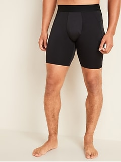 Go-Dry Cool Odor-Control Base Layer Shorts for Men -- 9-inch inseam