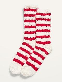Cozy Striped Crew Socks for Women