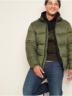 Veste rembourrée Frost-Free à glissière à l'avant pour homme