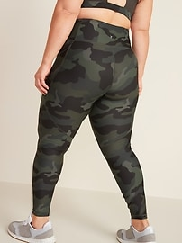 High-Waisted Elevate Powersoft 7/8-Length Plus-Size Leggings