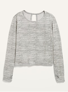 Luxe Wrap-Back Top for Girls