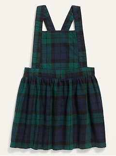 Plaid Flannel Dress for Toddler Girls