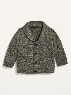 Unisex Shawl-Collar Cardigan for Baby