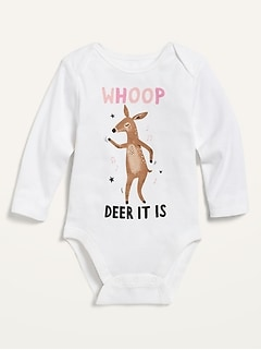 Graphic Long-Sleeve Bodysuit for Baby