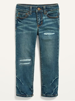 Karate Built-In Flex Max Distressed Jeans for Toddler Boys