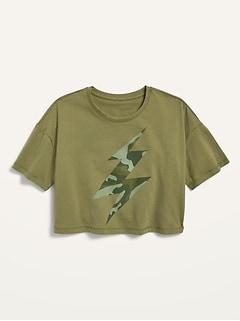 T-shirt à imprimé Performance pour fille