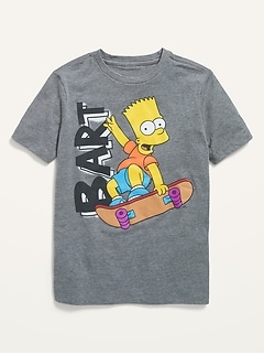 Gender-Neutral Bart Simpson™ Graphic Tee for Kids