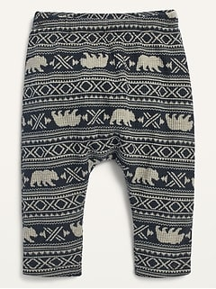 Unisex Thermal U-Shaped Pants for Baby