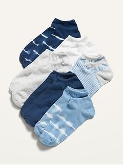 Chaussettes à la cheville à imprimé pour femme (paquet de6paires)