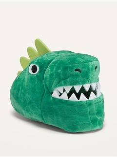 Unisex Dino-Critter Slippers for Toddler
