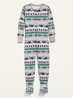 Fair Isle Footie Pajama One-Piece for Toddler & Baby