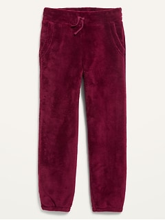 Cozy Plush Sherpa Sweatpants for Girls