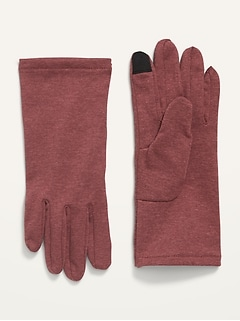 Text-Friendly Micro Performance Fleece Gloves for Girls