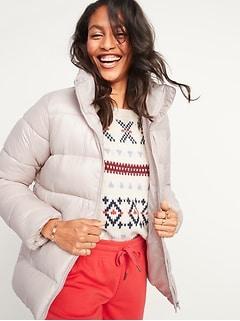 Veste rembourrée Frost-Free avec glissière à l'avant pour femme