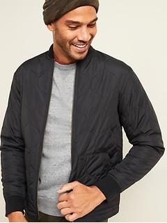 Lightweight Water-Resistant Quilted Liner Jacket for Men