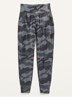 High-Waisted PowerSoft Pocket Joggers for Girls