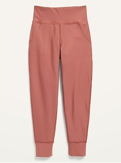 High-Waisted Elevate Powersoft Joggers for Girls