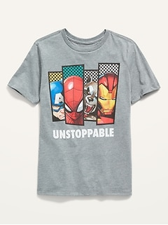Marvel Comics™ Gender-Neutral Graphic Tee for Kids