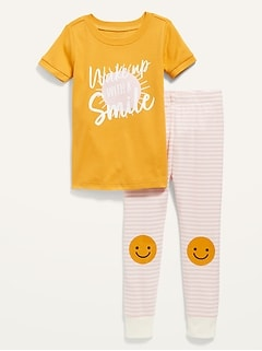Short-Sleeve Pajama Set for Toddler & Baby