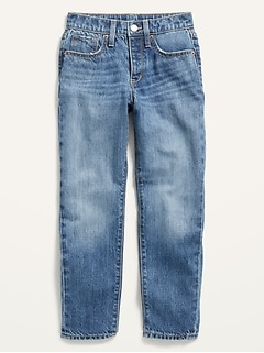 POPSUGAR x Old Navy High-Waisted O.G. Slim Straight Medium-Wash Jeans