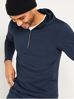 Go-Dry French Terry Half-Zip Hoodie for Men