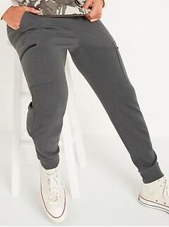 Pantalon d'entraînement cargo en molleton dynamique pour homme